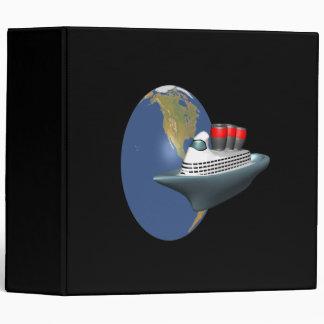 Worldwide Cruise 3 Ring Binder