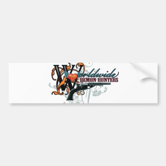 Worldwide Demon Hunters Bumper Sticker