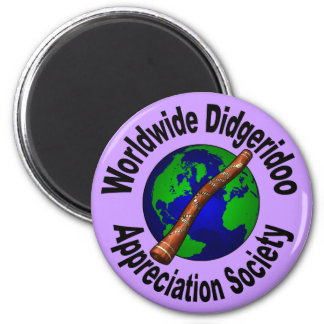 Worldwide Didgeridoo Appreciation Society Fridge Magnets