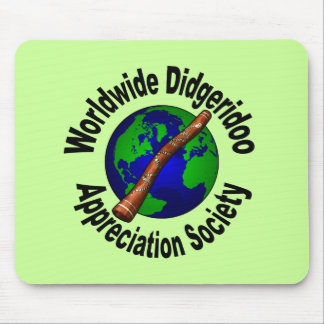 Worldwide Didgeridoo Appreciation Society Mousepad
