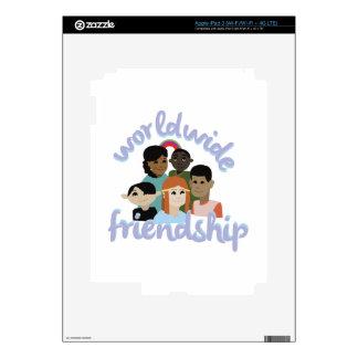 Worldwide Friendship Decal For iPad 3