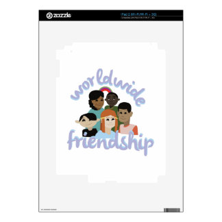 Worldwide Friendship Decals For The iPad 2