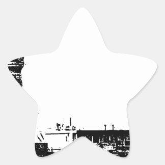 """""""Worldwide information sight world bbs forum Tokyo Star Sticker"""