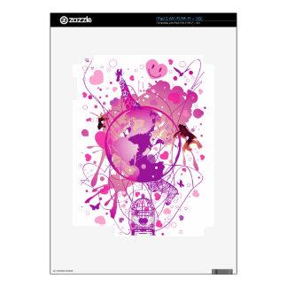Worldwide_Love Skin For The iPad 2