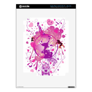 Worldwide_Love Skins For iPad 3