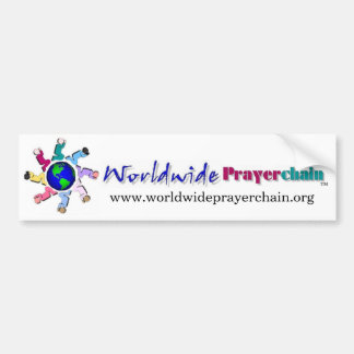 Worldwide Prayer Chain Bumper Sticker