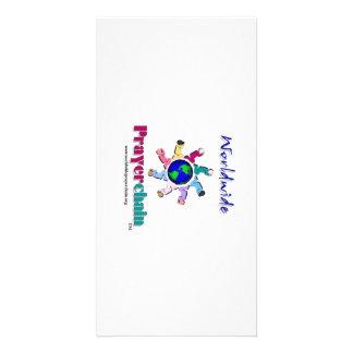Worldwide Prayer Chain Photocards Card