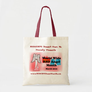 Worldwide RSD Angel Month 2010 Budget Tote Bag
