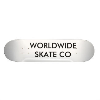 WORLDWIDE SKATE CO, SKATEBOARD