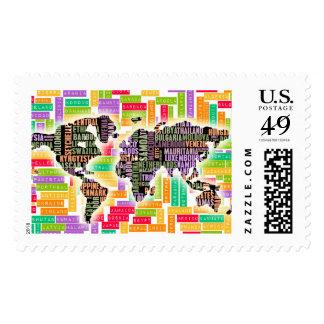 Worldwide Travel Stamp