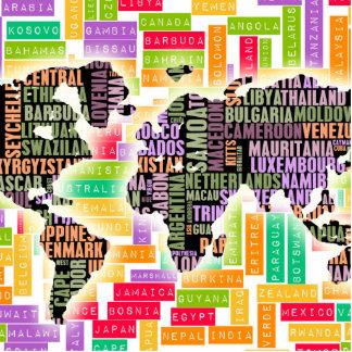 Worldwide Travel Statuette