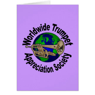 Worldwide Trumpet Appreciation Society Card