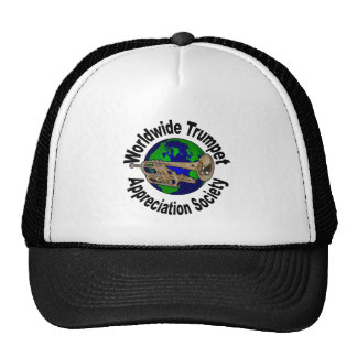 Worldwide Trumpet Appreciation Society Trucker Hat
