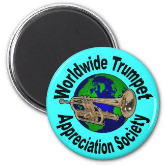 Worldwide Trumpet Appreciation Society Magnet