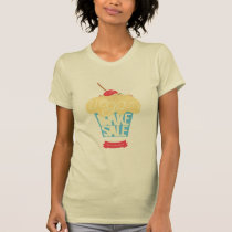 Worldwide Vegan Bake Sale shirt by Vik Jardine