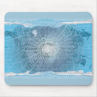 Worldwide web mouse pad