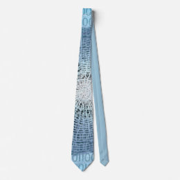 Worldwide web necktie