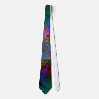 Worldz Psychedelic Abstract Art Neck Tie