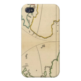 Worlp Map with 5 Zones Covers For iPhone 4