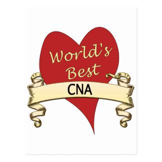 Worls's Best CNA Postcard