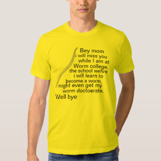 Worm college T-Shirt