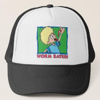 Worm Eater Trucker Hat