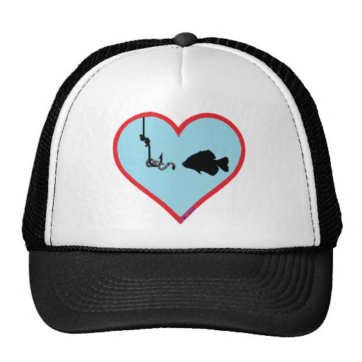 worm fishing hats