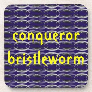 Worm jaw coaster set