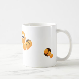 Worm-naar and to coffee mug