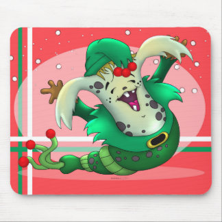 WORM PET CUTE ALIEN MONSTER CARTOON MOUSE PAD