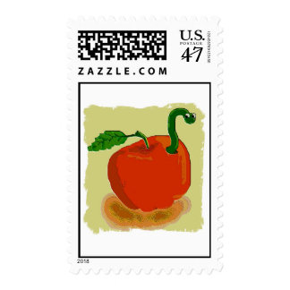 worm postage stamp
