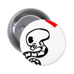 Wormey the Parasite Pins