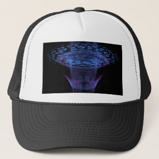 Wormhole Abstract Fractal Design Trucker Hat