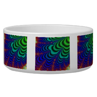 Wormhole Fractal Space Tube Bowl