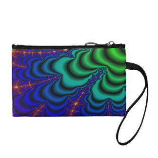 Wormhole Fractal Space Tube Coin Purse