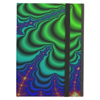 Wormhole Fractal Space Tube iPad Air Cover