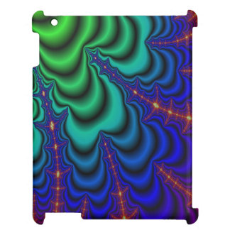 Wormhole Fractal Space Tube iPad Cover