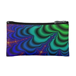 Wormhole Fractal Space Tube Makeup Bag
