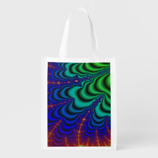 Wormhole Fractal Space Tube Market Totes