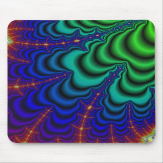 Wormhole Fractal Space Tube Mouse Pad