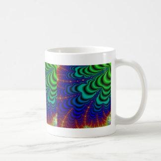 Wormhole Fractal Space Tube Mugs