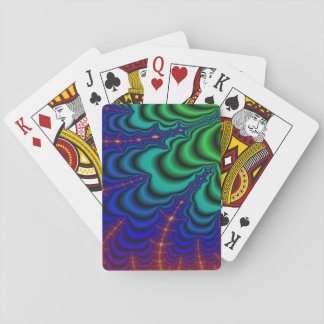 Wormhole Fractal Space Tube Playing Cards