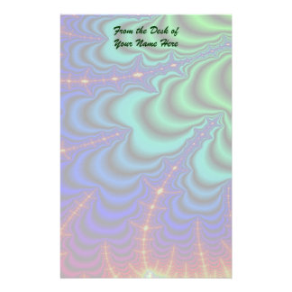 Wormhole Fractal Space Tube Stationery