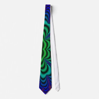 Wormhole Fractal Space Tube Tie