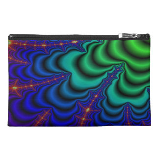 Wormhole Fractal Space Tube Travel Accessory Bag
