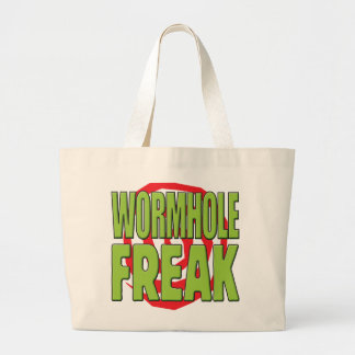 Wormhole Freak G Tote Bags