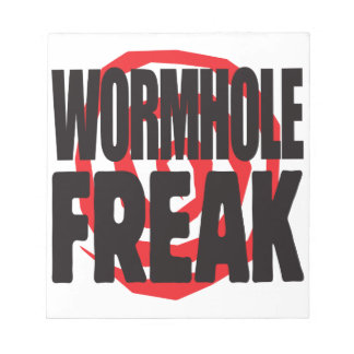 Wormhole Freak Memo Pads