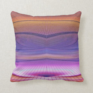 Wormhole in the Dunes Throw Pillow