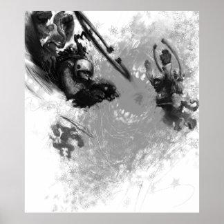 Wormhole Monkeys Print