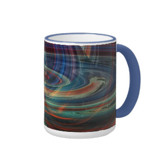 Wormhole Over The Bay Abstract Mug